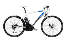 E-MOTION Max 700 Elektrische Fiets Heren matt white wit
